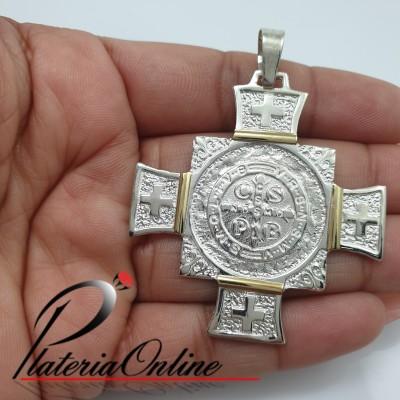 Medallon Cruz de San Benito...