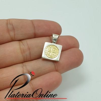 Medalla San Benito Cuadrada...