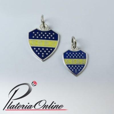 Escudo Boca Junior de Plata
