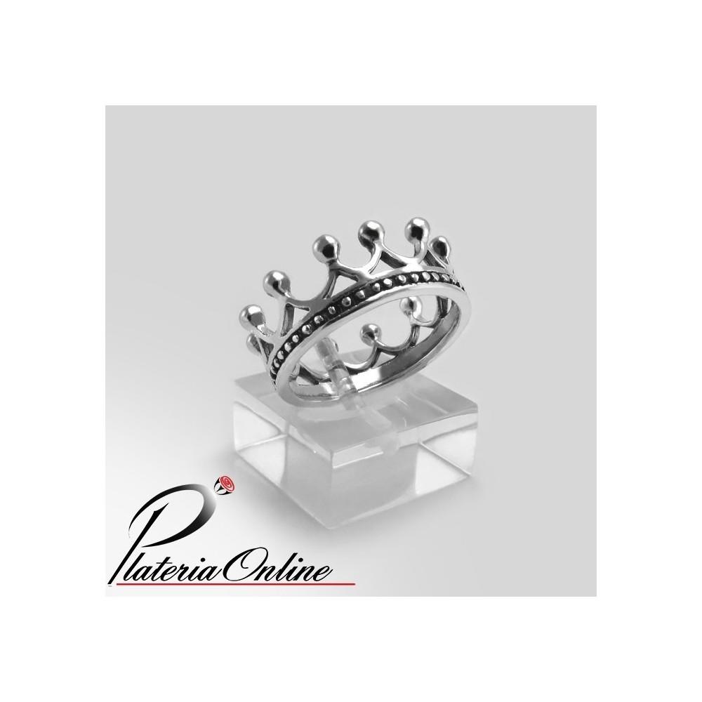 42cd445c7013 Anillo Corona del Rey Plata 925