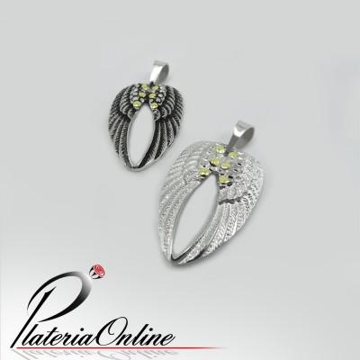 Dije Alas Wings de Plata y Oro