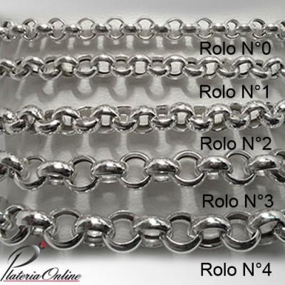 Collar Rolo N°4 de Plata