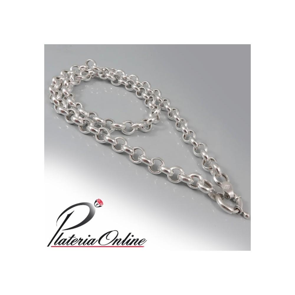 4cec067cf91f Collar Rolo N°1 Plata 925 Largo de cadena 45 cm