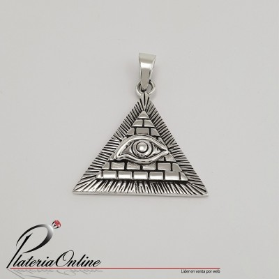 Dije Iluminati de Plata 925...
