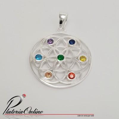 Dije Mandala 7 Chakras de...