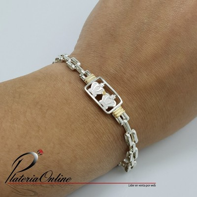 Pulsera Panter Centro Doble...