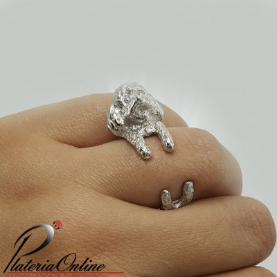 Anillo Perro French Poodle...