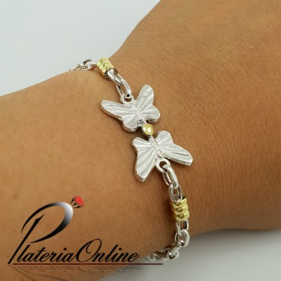 Pulsera Rolo Oval Doble...
