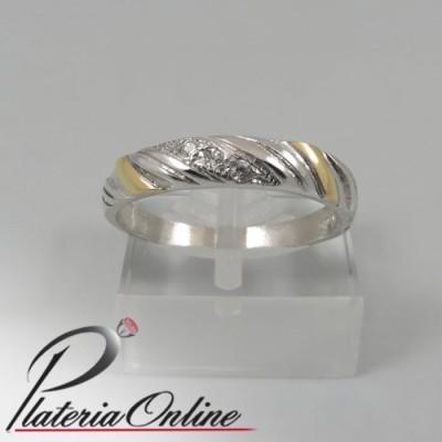 5232cc3e59b4 Anillos Con Piedra De Plata y Oro mercado libre