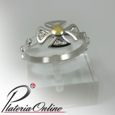 Anillo Denario Relieve de...
