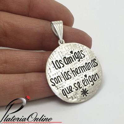 Dije Amigas de Plata 925