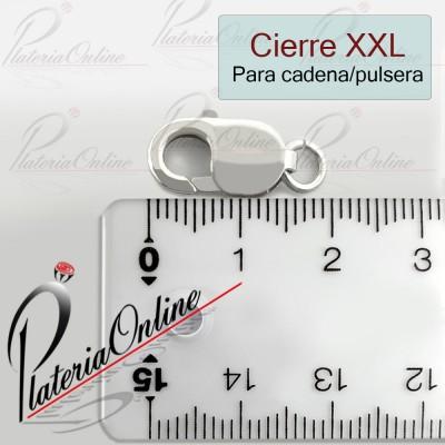 Cierre XXL de Plata 925