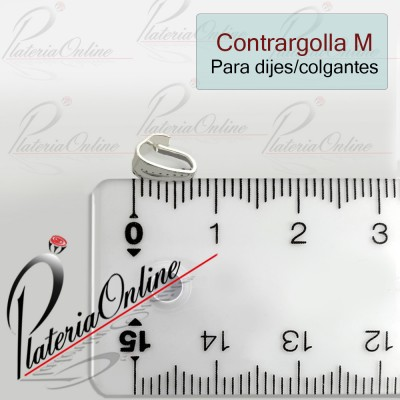 Contrargolla M de Plata 925