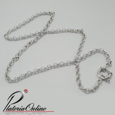 Collar Rolo N°00 Plata 925