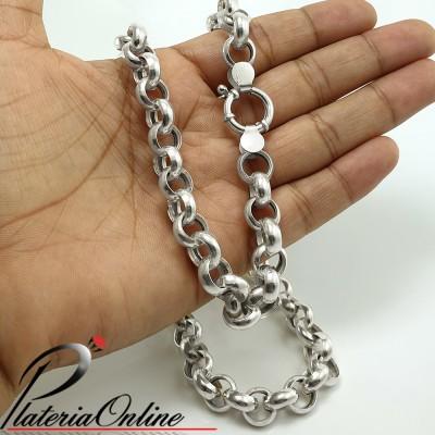 Collar Rolo N°3 Plata 925