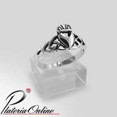 Anillo Claddagh Corazon...