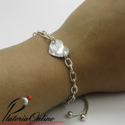 Pulsera Regulable de Plata...