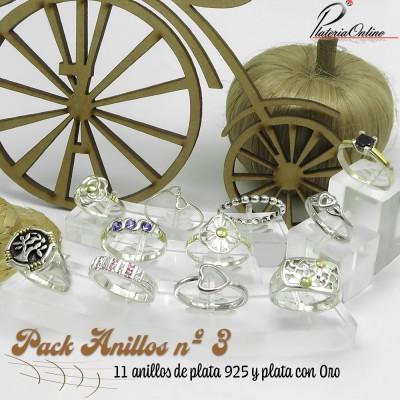 PACK Nº3 DE 11 ANILLOS