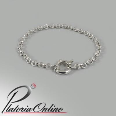 Pulsera Rolo de Plata N°00