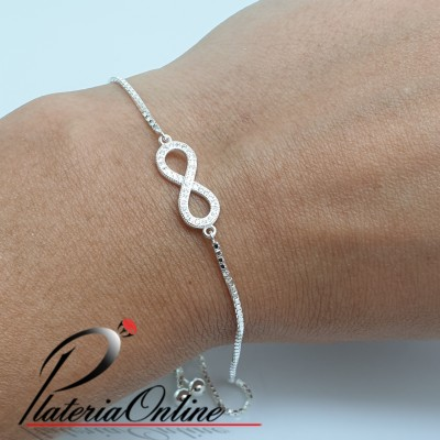 Pulsera regulable fina con...