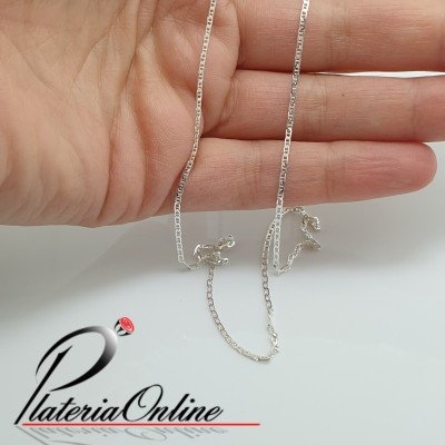 Cadena Hermes Finita de Plata