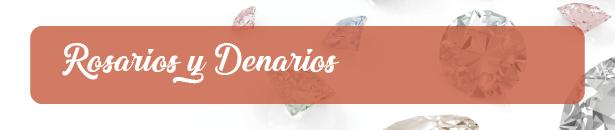 Rosarios y Denarios de Plata