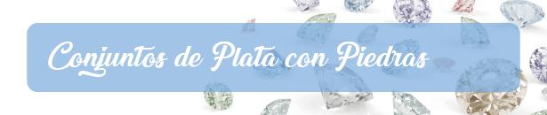 Conjuntos de Plata 925 Con Piedras
